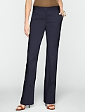 Heritage Polished Sateen Bootcut Trousers