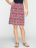 Abstract Octopus-Print Skirt