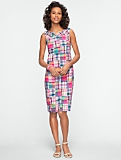 Pink Madras Plaid Dress