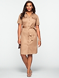 Sateen Safari Dress