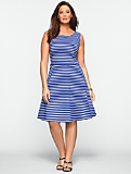 Edie Stripe Full Dress