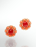 Florette Cabochon Earrings