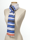 Bright Multi-Stripe Scarf
