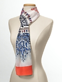 Painterly Paisley Scarf