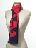Abstract Paisley Swirl Scarf