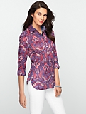 Calico Paisley Shirt