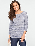 Marled Boatneck Sweater