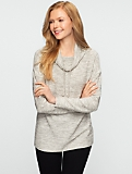 Textured Drawstring Top
