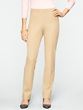 Curvy Refined Bi-Stretch Side-Zip Pants