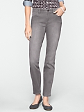 Slimming Signature Haze-Wash Ankle Jeans