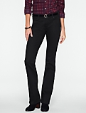 Slimming Signature Black Bootcut Jeans