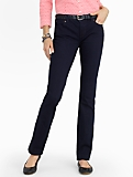 Slimming Signature Straight-Leg Jeans - Midnight Wash