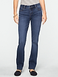 Slimming Signature Dusk Wash Straight-Leg Jeans