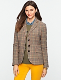 Highland Plaid Blazer