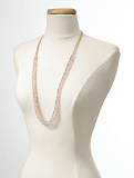 Delicate Faceted-Bead Necklace