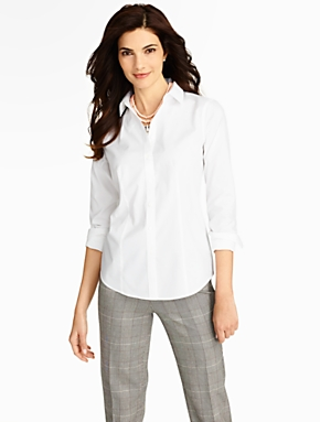 The Perfect Long-Sleeve Shirt - Cotton Poplin