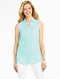 Sleeveless Nantucket Shirt