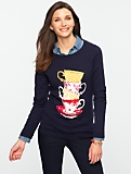 Talbots Comfy Teacup Sweater