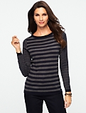 Blocked Stripes Sweater
