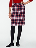 Indy Plaid A-Line Skirt
