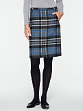 Winter Solstice Plaid Skirt