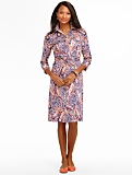 Jazzy Paisley Shirtdress