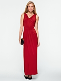 Twist V-Neck Gown