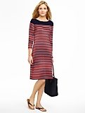 Colorblocked Stripe Tee Dress