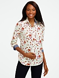 Baroque Jewels Button-Front Shirt