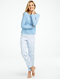 Winter Toile Pajama Set
