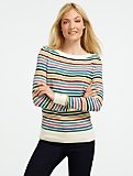 Mixed-Stripe Sweater