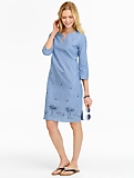 Chambray Beach Scene Tunic