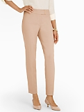 Signature Tailored Crepe Ankle Pants