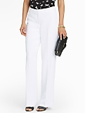 Signature Wide-Leg Crepe Pants