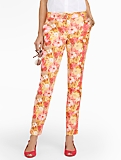 Sunshine Floral Dobby Ankle Pants