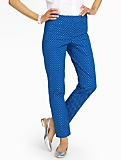 Talbots Hampshire Pants  - Polka Dots