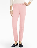 Slimming Signature Cotton Bi-Stretch Ankle Pants