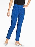 Talbots Hampshire Pants  - Curvy/Polka Dots