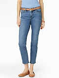 Slimming Heritage Cape Wash Crop Jeans