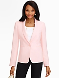 Crepe Shawl-Collar Jacket
