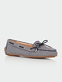 Easton Railroad Stripe Driving Moccasins