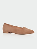 Graci Piped Suede Flats