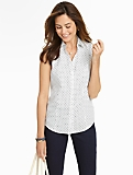 Wrinkle Resistant Anchors & Dots Shirt