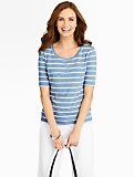 Speckle Stripes Tee