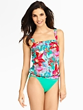 Island Floral Fauxkini Miraclesuit�