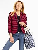 Sandbar-Stripes Knit Jacket