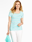 Boardwalk Stripes Fresh Jersey Tee