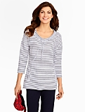 Serene Stripe Pullover Top