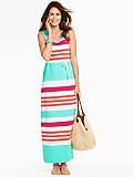 Fair-Weather Stripe Maxi Dress