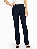 Curvy Seasonless Wool Tailored Bootcut Pants